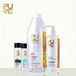 Purc Hot Vente Brésilienne De Traitement Capi Hair Kératine Formaldéhyde 8% Cheveux Au Chocolat