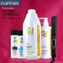 Purc Kératine Brésilienne Traitement Des Cheveux 1000ml Et 300ml Purifiant Shampooing Oem