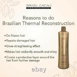 Reconstruction Thermique Traitement De La Kératine Brésilienne Blowout Step2 1 Bouteille Seulement