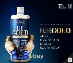 Salvatore Bleu Or Tanino Brosse Progressive Traitement Kératin Brésilien 1l 34oz