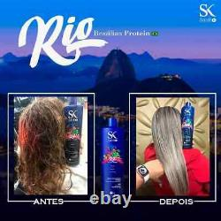 Sarahk Sk Professional Blond Liss Rio Brazilian Protein 1l/33.8fl. Oz USA Formulaire De 0%