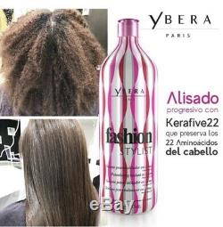 Soin Capillaire Brésilien À La Kératine Ybera Styliste De Mode Candy 100% Alisado 35 Oz