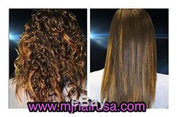 Système De Lissage Soyeux De Cheveux De Mj, Traitement Brésilien Professionnel De Kératine 16.9 Once