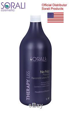 Thérapie Liss Sorali Crème Lissante Pour Les Cheveux Lissage Kératine Brésilienne