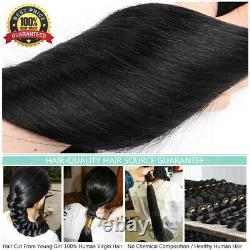 Thick Keratin Fusion Par Bonded 100% Remy Extensions Cheveux Humains Nail U-tip Ombre