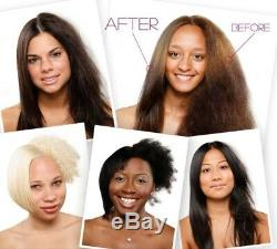 Traitement À La Kératine Caviarine De Cheveux Brésiliens Authentiques À Utiliser À La Maison En Toute Sécurité, Sans Formol