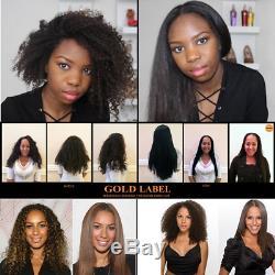 Traitement Amélioré De Cheveux De Éruption De Kératine Brésilienne Professionnelle D'étiquette D'or Amélioré