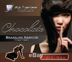 Traitement Au Chocolat Avec Kératine Brésilienne Au Collagène 16oz Hidra Max