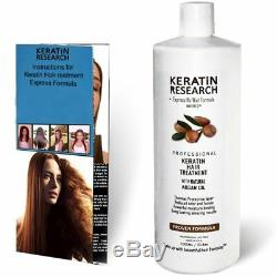 Traitement Aux Cheveux À La Kératine Brésilienne, Formule Complexe Professionnelle Éprouvée