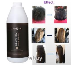 Traitement Brésilien De Kératine Lissage Cheveux Redressants 1l Brasil Kooratin