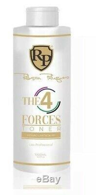 Traitement De Cheveux Brésiliens 4 Quatre Forces Nuance Toner 4 En 1 Robson Peluquero 1l