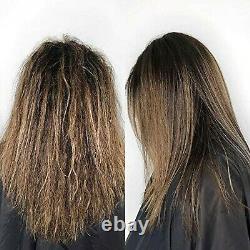 Traitement De La Kératine Brésilienne Lissant Les Cheveux 1 Étape De Traitement Protéinique