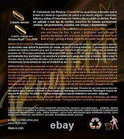 Traitement De La Kératine Des Cheveux Brésiliens Chocomax 1 Flacons 32 +32 Oz Shampooing Purifiant