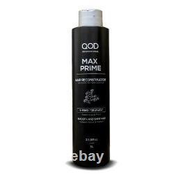 Traitement De Lissage De La Kératine Brésilien De Qod Max Prime S-fibre 33.8 Oz