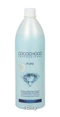 Traitement De Lissage Des Cheveux À La Kératine Brésilienne Cocochoco Pro Pure Advanced 2l