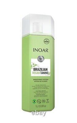 Traitement De Lissage Des Cheveux De Tanino Vegan Brésilien Inoar 1l