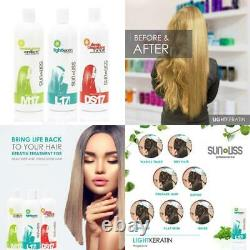 Traitement Des Cheveux Kératine Pour Les Cheveux Gras Gras Dans La Formule Brésilienne Anti Frizz Nutu