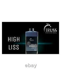 Traitement Keratin Brésilian Truss High Liss 650ml Peau Progressive