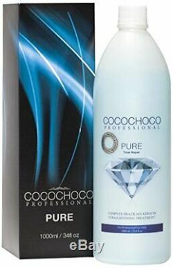 Traitement Pour Cheveux Brésiliens À La Kératine, 100% Pure Total Repair De Cocochoco