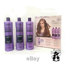 Traitement Pour Cheveux Brésiliens À La Kératine 3x1l De Cadiveu Plastica Dos Fios