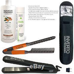 Traitement Professionnel De Cheveux De Kératine Brésilien Complexe Blowout Value Kit III