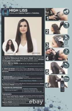 Truss Professional High Liss Brazilian Keratin Thermal Seal 22.88 Oz Nouveau