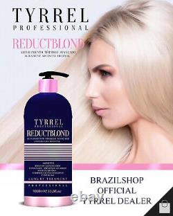 Tyrrel Reductblond Brésilien Kératine Reduct Blond Progressive Traitement Brosse