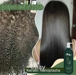 Ultimate Liss Hanna Lee Traitement Progressif Des Cheveux Kératin Brésilien 1l