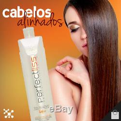 Visat Perfect Hair Liss Tourmaline Brésil Kératine Anticrêpage Traitement 1l 34 Oz