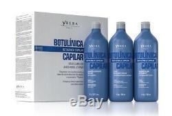 Ybera Kératine Kit Brésilien Botulique Rajeunissement 3x1l Traitement Des Cheveux Lissage